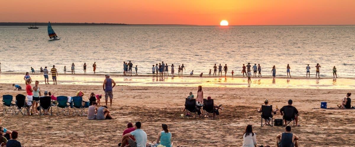 تفریح در سواحل استرالیا