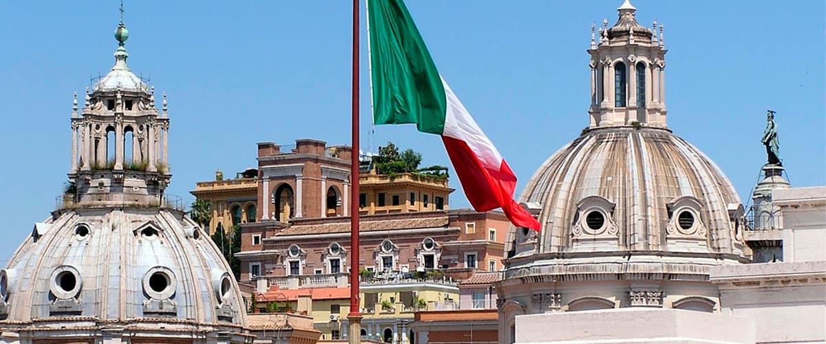 مهاجرت به ایتالیا - پرچم ایتالیا